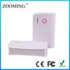 External mobile power bank 6000mah power bank/extenal batteries/portable chargers