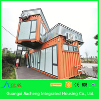 Container Office form China Supplier Manufacturer Directly Sales Prefab Beach Homes Container
