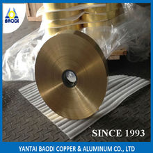 BAODI China supplier copper foil tape used for radiator brass strip