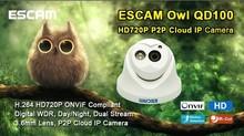 HOT SALE Escam HD720P QD100 h.264 ONVIF P2P animal surveillance cameras