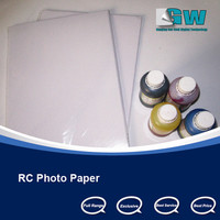 A4 Size 260gsm RC Waterproof Glossy photo paer