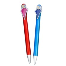 Original idea company wholesale branded gifts/production pens for advertising designed with branded moulds clip