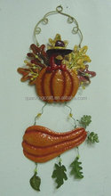 METAL Harvest Pumpkin Wall hanging Home Decorations