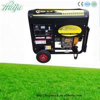 low energy consumption diesel generator HJ-D5000