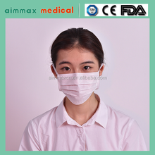 Plain Face Mask With Ear-Loop or tie-on