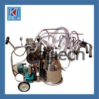 Cow Milking Machine Price for two buckets