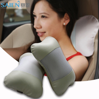 Factory wholesale car accessory massage head rest car seat pillow