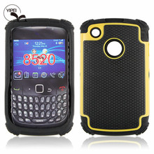 Wholesale Price!!! Flip Cover For Blackberry 8520 Cover Case with 3 in 1