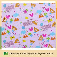 Custom Digital Print 95 Cotton 5 Elastane Fabric