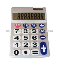 8 Digit Classic Desktop Solar Cell Battery Calculator