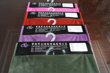 short pile velour fabric/solid super soft velboa