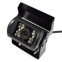 Car Truck Waterproof 18 LED Night Vision Backup Rear View Camera