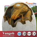 VDG730 Traje adulto dinosaurio realista real del dinosaurio dinosaurio artificial huevo