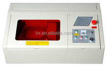 HX 40A co2 mini laser cutter engraver/arts and crafts engraving machine