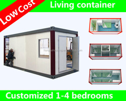 prefab dormitory house cabin portable container house