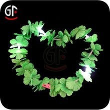 Battery Operated Flashing Led Hawaiian Necklace Flower For Party