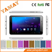 touch screen 7 inch MTK tablet pc android 4.2 with two camera