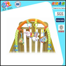 Hot selling baby mobile hanger toy with soft toys