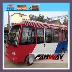 Mini Food Catering Van Bus Electric Coffee Catering Van