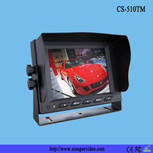 """5"""" whole reversing package Type and DC 12V Voltage 5"""" car monitor kit"""