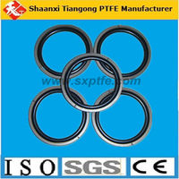 100% virgin high quality customerize PTFE seal rubber o-ring flat washers/gaskets PayPal