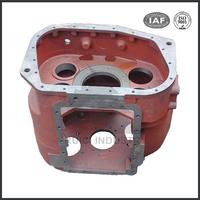 Fertilizer spreader sand casting cast iron gearbox