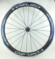 Ceramic Bearing Sapim Cx-Ray Spokes 700C Blue Carbon Alloy Clincher Wheelset 50mm With Straight Pull Hubs