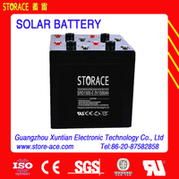 Solar/Wind Power System Battery 2v 1500ah SLA battery (SRD1500-2)