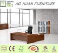 de gama alta moderno mobiliario de oficina de oficina de madera curvada escritorio escritorio de oficina