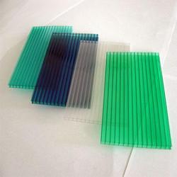 Polycarbonate colored solar plastic sheet