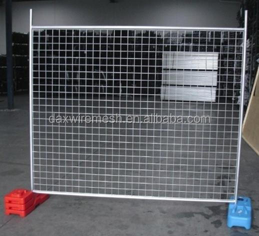 Portable Metal Gates : Movable metal portable temporary construction fence buy
