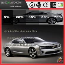 Factory direct sales decoration automobile 2ply 60inch*100feet solar window tint film decorative car glass
