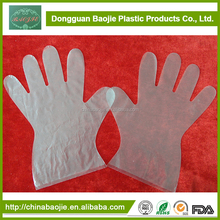 Disposable Plastic Pe Gloves For Medical Using Type Of Medical Gloves
