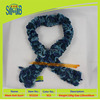 premium quality knitted thick mesh scarf for direct wholesale in Dyed muti-colored yarn sacrf