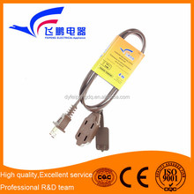 male to male electrical household indoor extension cord