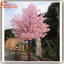 Wholesale pink bcherry blossom factory direct artificial trees cherry blossoms landscape modeling cherry blossom wedding