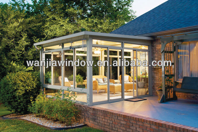 wanjia factory high performance outdoor glass room