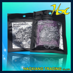 high quality zipper waterproof plastic bag for food packaging