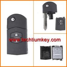 for Mazda M3,M6 blank key for Mazda 3 6 rx8 remote key fob case shell cover for Mazda 2