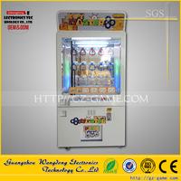 Key Master toy claw machine/crane arcade Golden key machine for sale