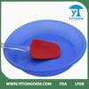 Hot sale healthy colorful plastic handle silicon pizza spatula