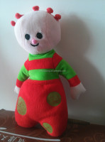 embroidery cartoon plush toy