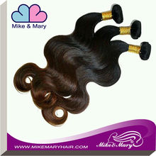 High Virgin Indian Ombre Hair Weaves Mike&Mary
