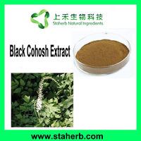 Manufacturer Supplier 2.5% Triterpenoid Saponins Black Cohosh Extract CAS 84776-26-1