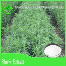 100% pure Stevioside, Rebaudioside A organic Stevia Leaf Extract powder wholesale