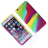 colorful cool silicone cell phone case for iphone 6