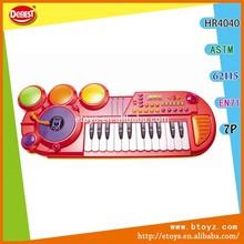 24 teclas órgano electrónico esclarecedor los niños juguete