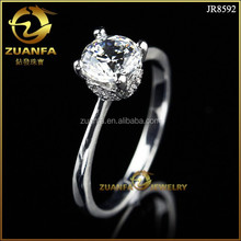 new 925 silver jewelry zircon ring design fashion wedding ring