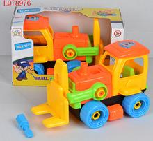 Newest children preschool educational toys tinker truck toys