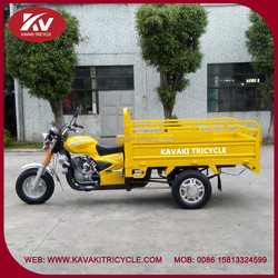India good quality powerful yellow 200cc motor tricycle